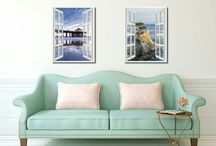 French Window, Home Decor, Wall Art, Decor, Gift Ideas / All Occasion GIFT Ideas & Home Decor Anyone & Everyone will Love. Birthday Gift, Mother's day Gift, Father's day Gift, Christmas Gift , Wedding Gift Housewarming Gift, Open house Gift, and More. SpotColorArt.com Extra Discount CODE( PIN10 )
