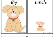 Inglês para crianças. / Auxiliar crianças no aprendizado de 2ª língua