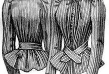 Historical costume patterns