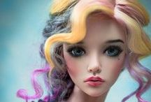 Wigs for dolls