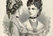 19th century hairstyle