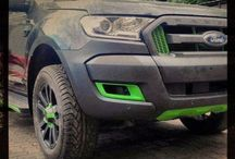 PICKUP / The first part changes Ford Ranger