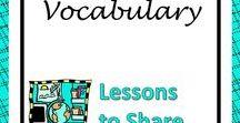 Vocabulary Resources