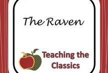 """Teaching The Raven / Lesson Plans and Links for teaching """"The Raven"""""""