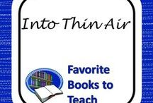 Teaching Into Thin Air / Links, lesson plans, and resources to make teaching this book a little easier!
