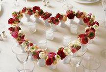 Wedding Reception Decor  / spring wedding, our colors are pink/silver/black / by Shawna Zerbest