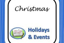 Christmas Activities / Holiday Lessons & Activities for Secondary Classrooms