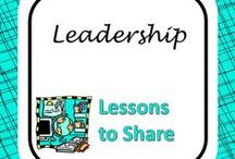 Leadership Lessons / Resources for use with student leadership programs.