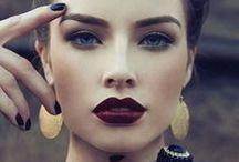 Make Up / Eys. Shadow. Blush. Lipstick. Mascara. Hobby. Natural. For beauty!