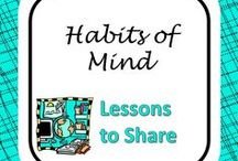 Habits of Mind / Ideas, articles, and lesson plans to use when teaching Costa's Habits of Mind.