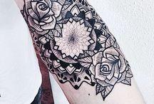 Tattoos / Line/geometric tattoos. Career?