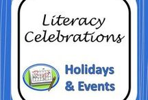 Celebrations of Literacy / Ideas for promoting literacy around the school during Celebrate Literacy Week (and the rest of the year)!