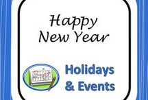 New Year's Activities / Texts and activities for the start of the new year.
