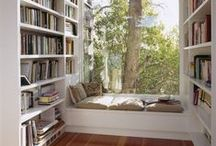 "Reading Nooks | Books | / ""It is what you read when you don't have to that determines what you will be when you can't help it.""  ― Oscar Wilde"