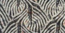 Бриошь / Техника вязания на спицах на основе английской резинки