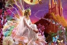 Enchantments, faeries, angels, and mystical wonders / new dimensions of awareness / by ♫♀✌♥ Renee Beanie ☮☽O☾ ❀ ❋ ❁