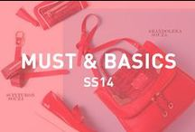 Must & Basics SS 14 / Imprescindibles!