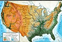Maps - The United States / by Susan Pojer