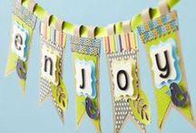 Buntings, Banners, Garlands, and Backdrops / by Evelyn Thiele