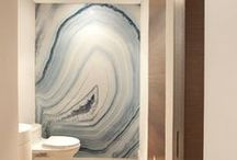 Inspirational Bathrooms / These are pictures of gorgeous bathrooms we use to inspire our clients and ourselves.