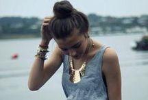 Statement Necklaces / in fashion...statement bib necklaces....