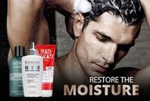 Men's Haircare - Restore Shine and Perfect Your Finished Look / The Ultimate Collection of Men's Haircare Products for Every Hair Type.