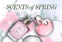 Scents of Spring / Bring in the Change of Season by Switching the Fragrance You've Been Wearing All Winter. Discover Your New Scent that's Subtly Sexy and Captures the Freshness of #Spring.