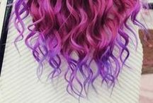 Playful Hair / hair omber color crayzy color