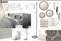 Douceur et texture   Chambre à coucher