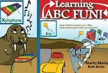 ABC Learning Fun / Very fun activity abc learning games for toddlers! Sharky Marky is the protagonist in an underwater car racing children's picture book series that focuses on kindness, education, redemption, and exemplifying good character. 2 books. 'Sharky Marky and the Big Race' and 'Sharky Marky and the Scavenger Hunt:An Alphabetic Adventure'