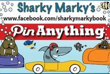 Pin Anything / Pin Anything or Advertise. Pin Recipes, Inspiration, Decor.  NO NUDITY/CURSING. Violation=Blocked. Family friendly board. Visually disturbing photos will be removed. If I miss an inappropriate pin please message me. ~Sharky Marky author Lance Olsen~ Sharky Marky and The Big Race(book 1) and Sharky Marky and the Scavenger Hunt: An Alphabetic Adventure(book 2)Ordering BN.com/Amazon.co