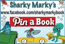 "Pin a Book / Pin a Book. Advertise, promote, or buy a book. NO NUDITY/ NO FOUL LANGUAGE. Violation=blocked.   ""The Sharky Marky picturebook series is where inspiration, kindness and education collide with an undersea rip-roaring car racing adventure!"" Ages 3-7  By Lance Olsen ALL social media @SharkyMarkyBook"