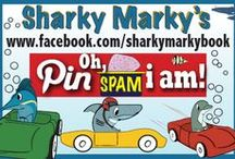 No Limit Pinning / Pin everything. No limit. NO NUDITY/ NO FOUL LANGUAGE. Violation=blocked--Family friendly board so I must be strict. Please let me know if a pin breaks the rules so I can remove it ASAP. Have fun pinning! ~Sharky Marky author Lance Olsen~ Sharky Marky is the protagonist in an underwater car racing children's picturebook series. Sharky Marky and The Big Race' and Sharky Marky and the Scavenger Hunt: An Alphabetic Adventure'Ordering BN.com/Amazon.com