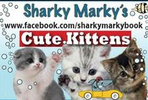 "Cute Kittens / Pin cute kittens, G rated environment. The board is watched closely for content. I check often, but please let me know if a pin breaks the rules so I can remove it. Thank you and God bless! Lance Olsen pinterest@sharkymarkybook  ""The Sharky Marky picturebook series is where inspiration, education and kindness collide with an undersea rip-roaring car racing adventure!"" ages: 3-7 by Lance Olsen  Sharky Marky and the Big Race and Sharky Marky and the Scavenger Hunt:An Alphabetic Adventure"