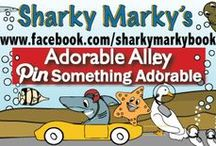 Adorable Alley / Pin adorable puppies, kittens, rabbits, babies, and animals. G RATED BOARD. Violations=blocked. Please let me know if you find a pin that breaks the rules so I can remove it ASAP. Have fun pinning! ~Sharky Marky author Lance Olsen~ Sharky Marky is the protagonist in an underwater car racing children's picturebook series. Sharky Marky and The Big Race and Sharky Marky and the Scavenger Hunt: An Alphabetic Adventure Ordering BN.com/Amazon.com(ages 3-7)