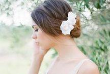 HEADPIECES by Orchidée de Soie} / accessoires de mariage