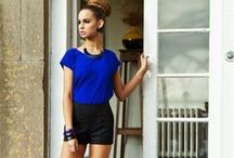 Summer Tops  / The Arella Blue top, available to buy online at http://ollieandmac.com/product/arella-blue-top/