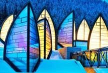 Mountains' Architecture * Architettura di Montagna / Architettura Alpina e di Montagna... speciale :-)