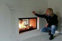 Fireplaces * Camini & Fuochi www.cortinatelier.com
