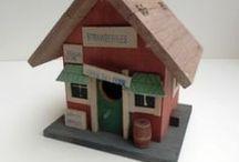 vogelhuisjes / Voer huisjes, voersystemen, nestkastjes
