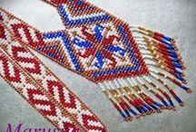 бисерные украшения