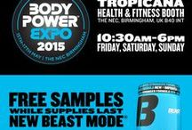 Beast Events / Beast Sports Nutrition at trade shows and other spectacular events.