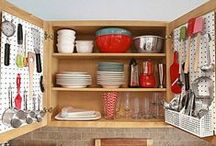 Small Kitchen Ideas / Organizing a tiny kitchen