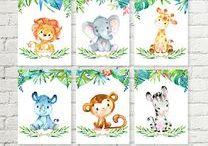 Baby Boy / Safari/Jungle Theme