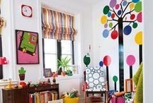 Kids Room Decor / With a little creativity, you can transform your kids room into a bright and happy bedroom