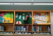 Library Displays / Here are some displays we have put up in our library.  Feel free to get ideas here!
