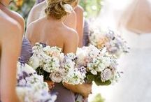 Chic lilac wedding! / The lilac color stands out and makes the whole elegant ... For a wedding elegant and chic!