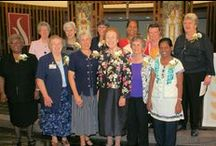 Celebrating 125 Years with the Sisters / The Sisters of Charity of Nazareth, some of who served at St. Vincent, traveled to Little Rock to participate in Heritage Day. There was a special Mass held and then dinner at the Clinton Library.