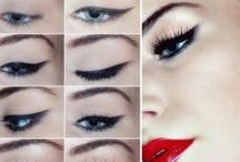 Retro Makeup / Retro styled makeup- cool looks and how-to's