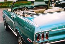 """Classic Cars / Classic muscle cars- or as my son says """"hot-rods!"""""""